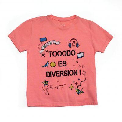 Camiseta Todo es Diversión