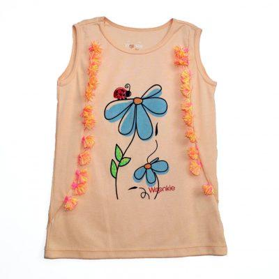 Camiseta Flor Mariquita