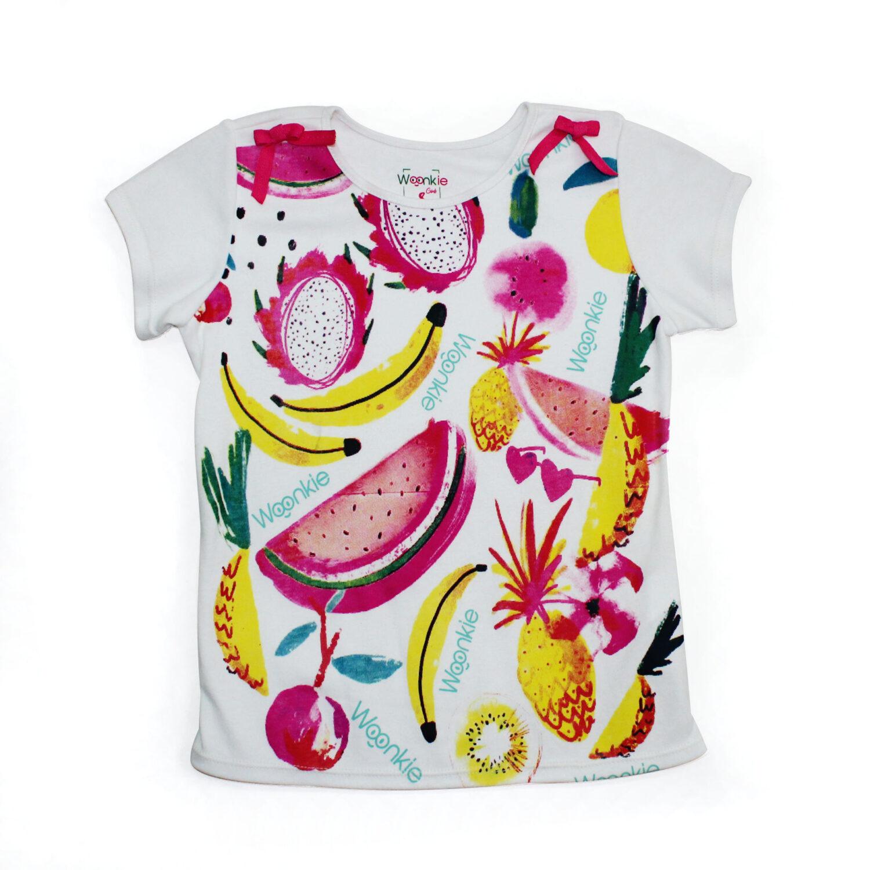 Camiseta Frutas