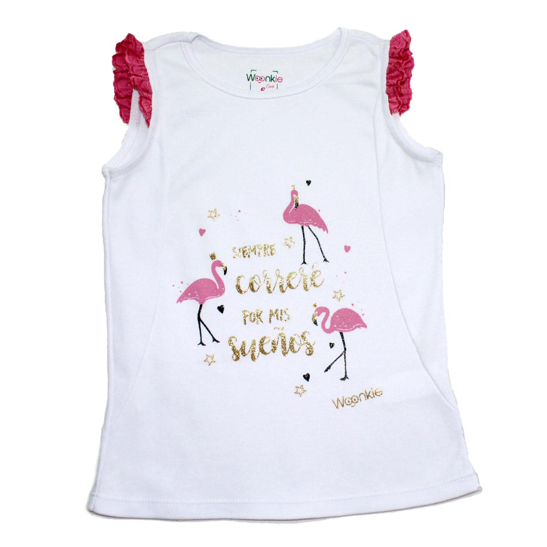 Camiseta Flamingos