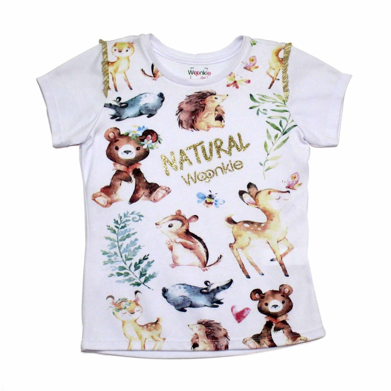 Camiseta Natural Woonkie