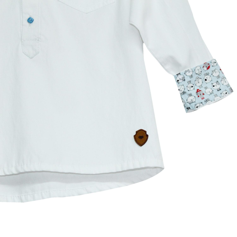 Camisa Niño Blanca
