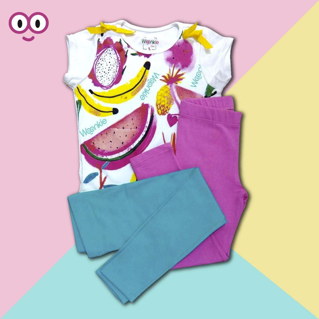 Woonkie promoción: Conjunto leggins + camiseta